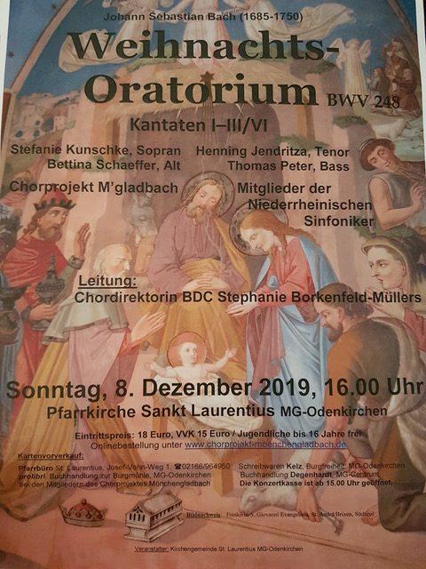 J. S. Bach – Weihnachtsoratorium I-III + VI