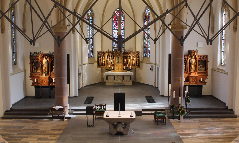 Online-Streaming-Gottesdienst aus St. Maria Empfängnis
